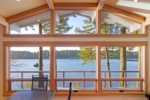 Westcott Bay Deck From Inside