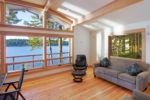 Westcott Bay Living Area