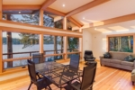 Westcott Bay Dining And Living Area