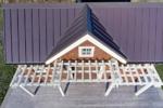 Aerial Poolhouse
