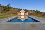 Pool house Across Pool